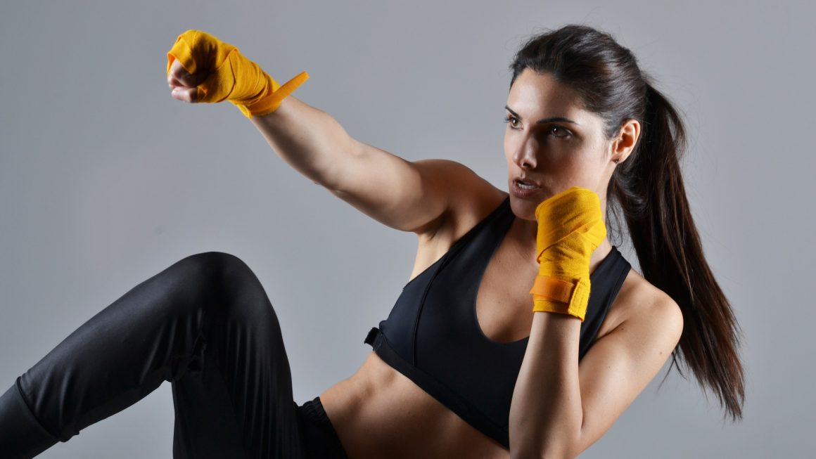 Kickboxing is the best way for women's fitness